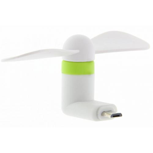Smartphone ventilator Micro-USB - Wit