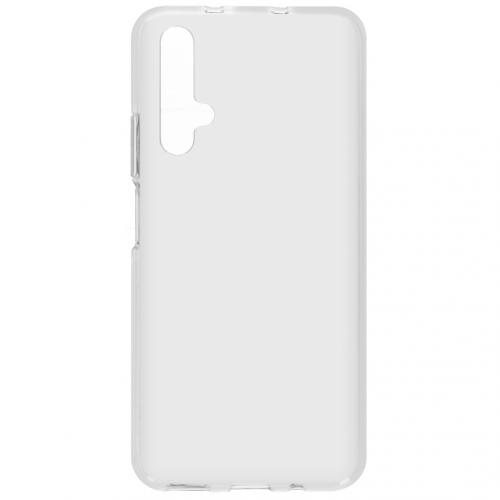 Softcase Backcover voor de Huawei Nova 5t / Honor 20 - Transparant