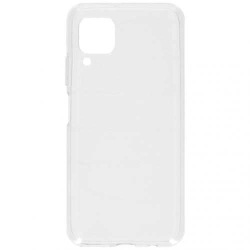 Softcase Backcover voor de Huawei P40 Lite - Transparant