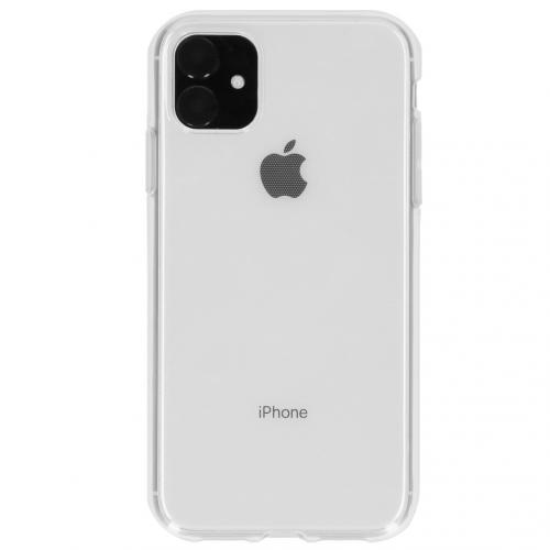 Softcase Backcover voor de iPhone 11 - Transparant