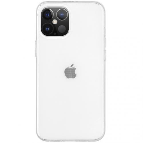 Softcase Backcover voor de iPhone 12 6.1 inch - Transparant