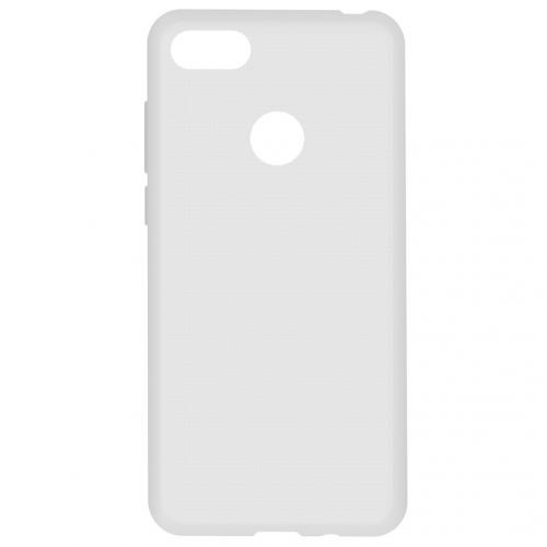 Softcase Backcover voor de Motorola Moto E6 Play - Transparant