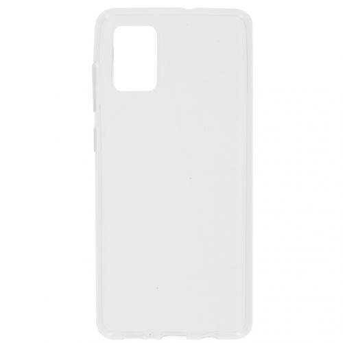 Softcase Backcover voor de Samsung Galaxy A71 - Transparant