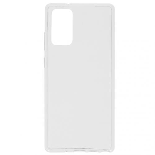 Softcase Backcover voor de Samsung Galaxy Note 20 - Transparant