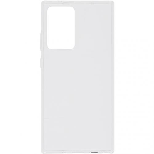 Softcase Backcover voor de Samsung Galaxy Note 20 Ultra - Transparant