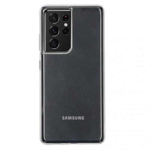 Softcase Backcover voor de Samsung Galaxy S21 Ultra - Transparant