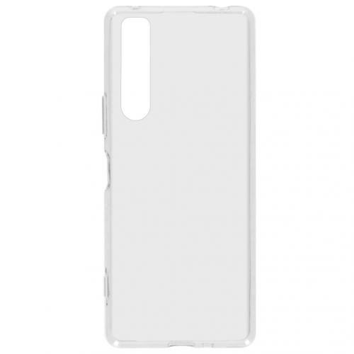 Softcase Backcover voor de Sony Xperia 1 II - Transparant