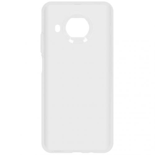 Softcase Backcover voor de Xiaomi Mi 10T Lite - Transparant