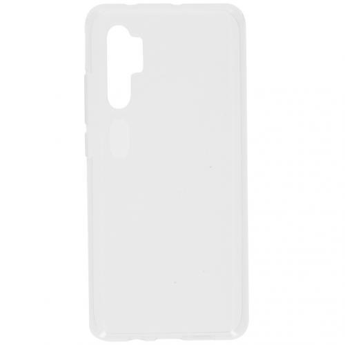 Softcase Backcover voor de Xiaomi Mi Note 10 Pro - Transparant