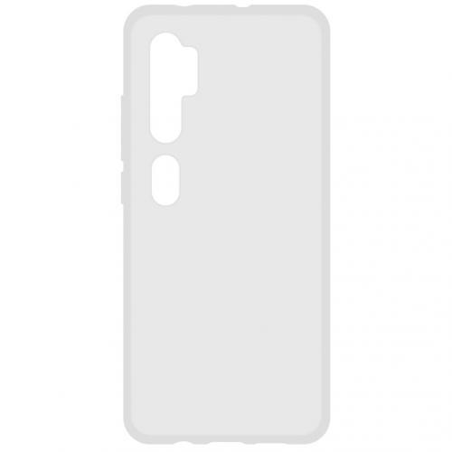 Softcase Backcover voor de Xiaomi Mi Note 10 - Transparant