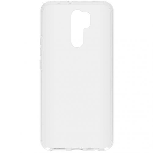Softcase Backcover voor de Xiaomi Redmi 9 - Transparant