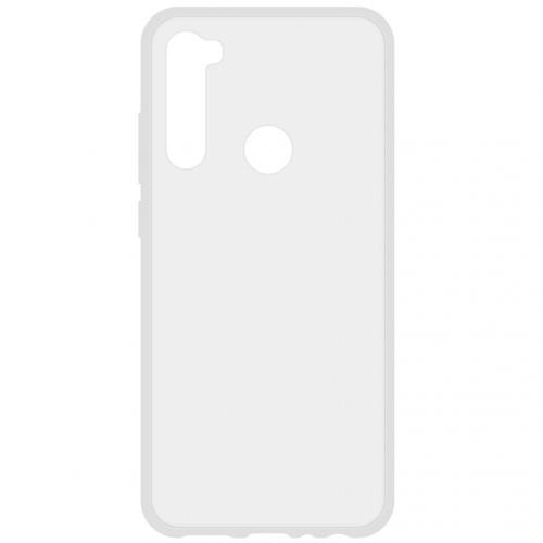 Softcase Backcover voor de Xiaomi Redmi Note 8T - Transparant