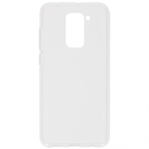 Softcase Backcover voor de Xiaomi Redmi Note 9 - Transparant