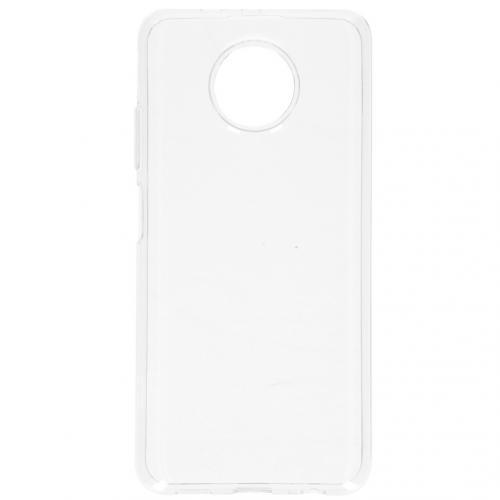 Softcase Backcover voor de Xiaomi Redmi Note 9T (5G) - Transparant