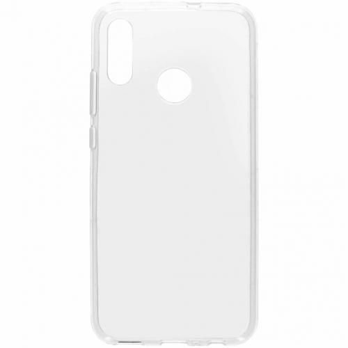 Softcase Backcover voor Honor 10 Lite - Transparant
