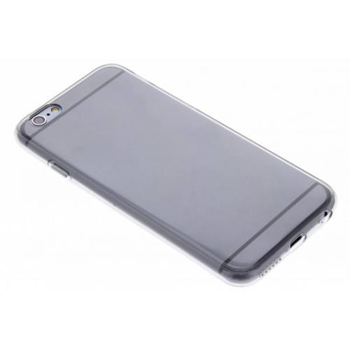 Softcase Backcover voor iPhone 6 / 6s - Grijs