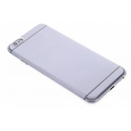 Softcase Backcover voor iPhone 6 / 6s - Transparant