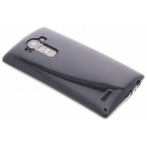 Softcase Backcover voor LG G4 - Grijs