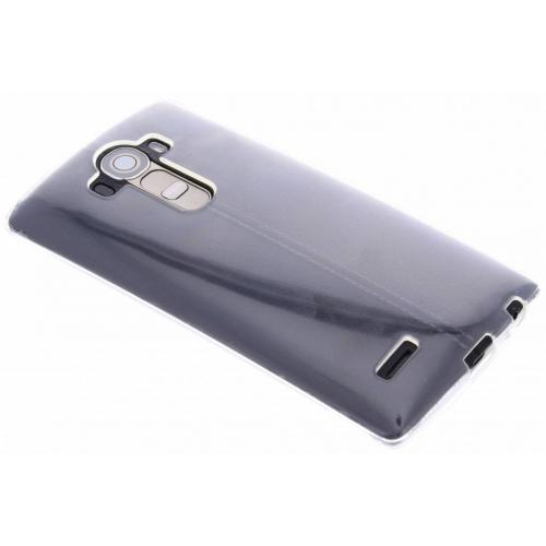 Softcase Backcover voor LG G4 - Transparant