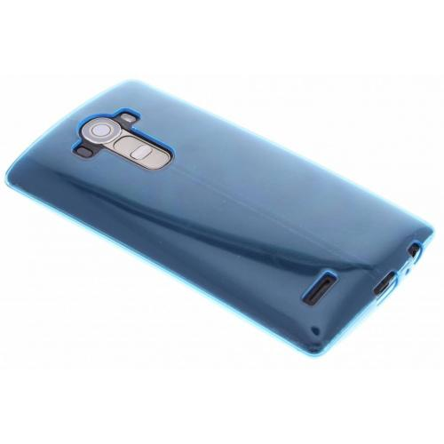 Softcase Backcover voor LG G4 - Turquoise