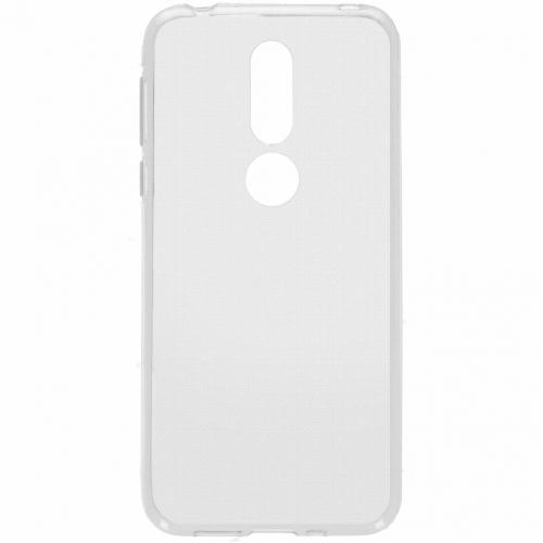 Softcase Backcover voor Nokia 7.1 - Transparant