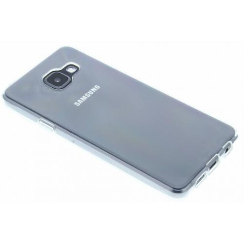 Softcase Backcover voor Samsung Galaxy A3 (2016) - Transparant