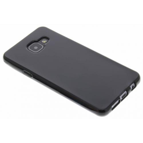Softcase Backcover voor Samsung Galaxy A3 (2016) - Zwart