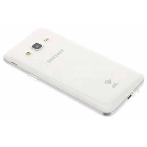 Softcase Backcover voor Samsung Galaxy J3 / J3 (2016) - Transparant