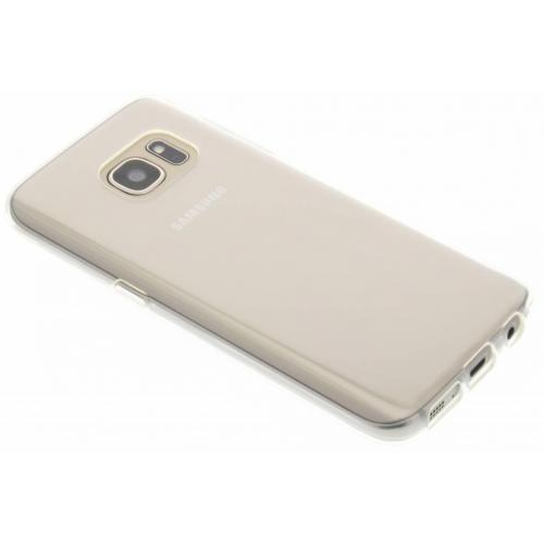 Softcase Backcover voor Samsung Galaxy S7 - Transparant