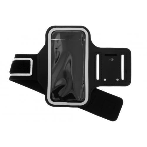 Sportarmband voor de iPhone 12 6.7 inch - Zwart