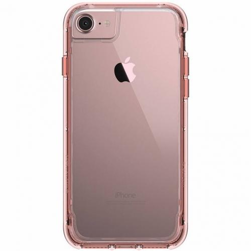 Survivor Clear Backcover voor iPhone 8 / 7 / 6s / 6 - Roze