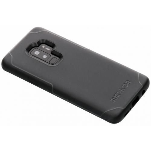 Survivor Strong Backcover voor Samsung Galaxy S9 Plus - Zwart