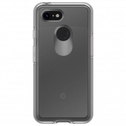 Symmetry Clear Backcover voor Google Pixel 3 XL - Transparant