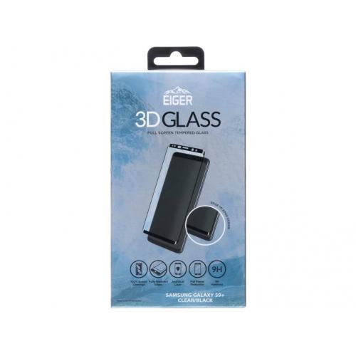 Tempered Glass Screenprotector voor Samsung Galaxy S9 Plus - Zwart