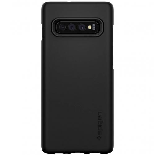 Thin Fit Backcover voor Samsung Galaxy S10 - Zwart