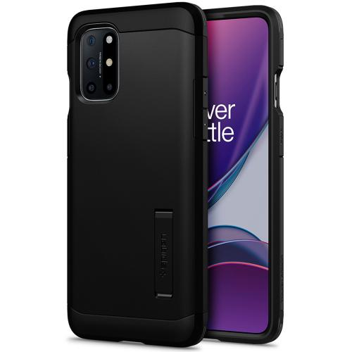 Tough Armor Backcover voor de OnePlus 8T - Zwart