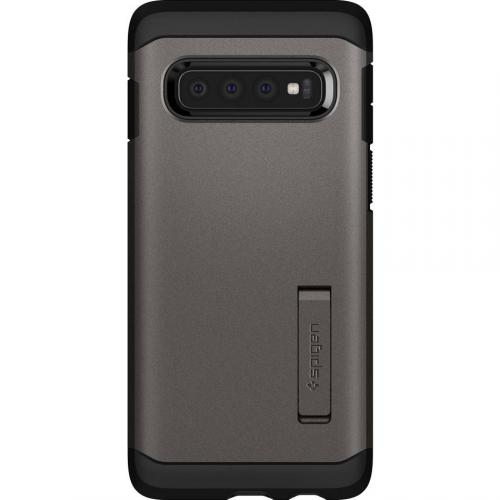 Tough Armor Backcover voor Samsung Galaxy S10 - Grijs