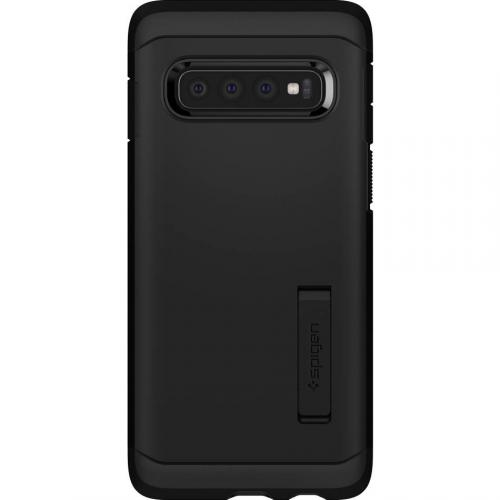 Tough Armor Backcover voor Samsung Galaxy S10 - Zwart