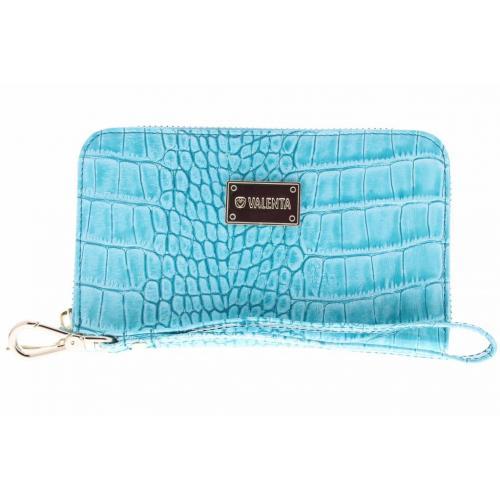 Turquoise Universele Luxury Handbag Snake Glam