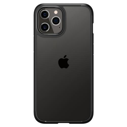 Ultra Hybrid Backcover voor de iPhone 12 Pro Max - Zwart