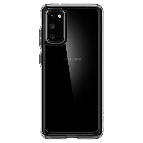 Ultra Hybrid Backcover voor de Samsung Galaxy S20 - Transparant
