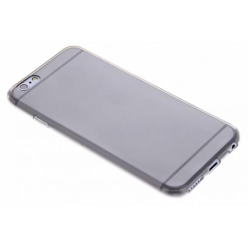 Ultra Thin Transparant Backcover voor iPhone 6 / 6s - Grijs
