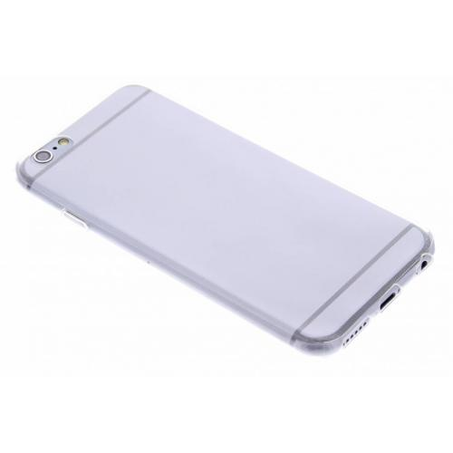 Ultra Thin Transparant Backcover voor iPhone 6 / 6s - Transparant