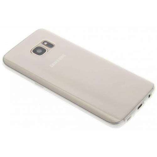 Ultra Thin Transparant Backcover voor Samsung Galaxy S7 - Transparant