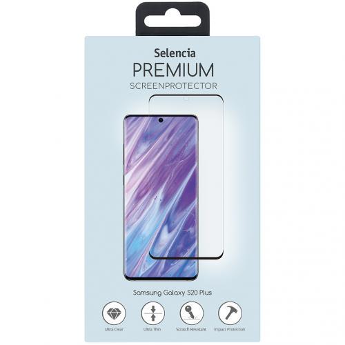 Ultrasonic sensor premium screenprotector voor Samsung Galaxy S20 Plus