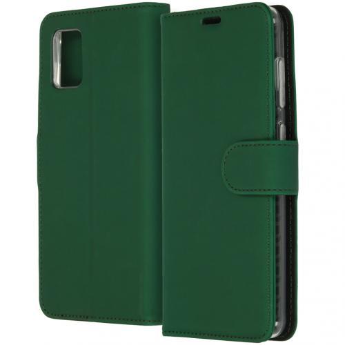 Wallet Softcase Booktype voor de Samsung Galaxy A31 - Groen