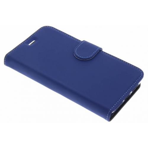 Wallet Softcase Booktype voor General Mobile GM6 - Donkerblauw