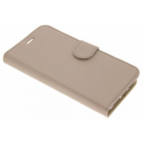 Wallet Softcase Booktype voor General Mobile GM6 - Goud