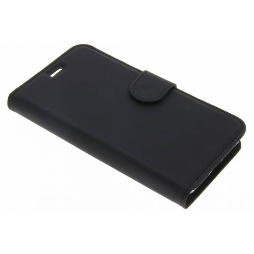 Wallet Softcase Booktype voor General Mobile GM6 - Zwart