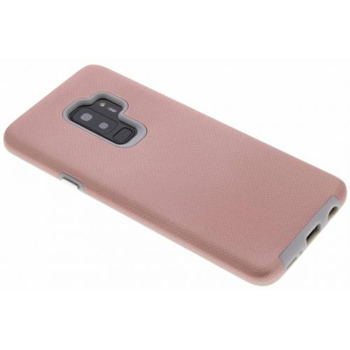 Xtreme Hardcase Backcover voor Samsung Galaxy S9 Plus - Rosé goud